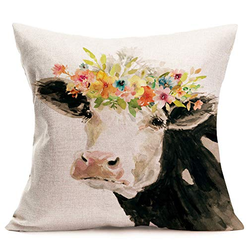 Throw Pillow Covers Spring Flowers