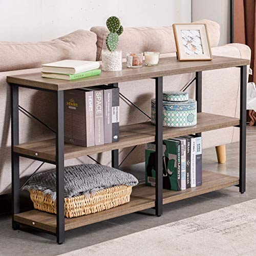 Home Rustic Console Table For Entryway