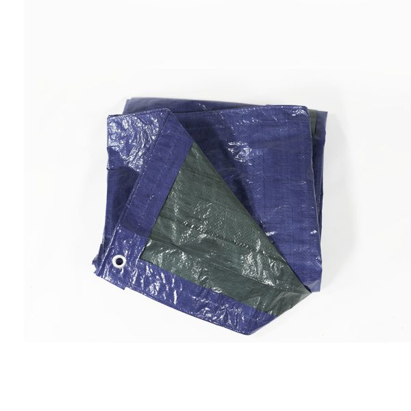 Sunnydaze Waterproof Multi-Purpose Poly Tarp, Color and Size Options Available, Blue Green, 6-feet x 8-feet