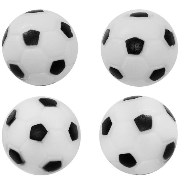 Sunnydaze 36mm Replacement Foosball Table Balls, Standard Size, 4 Pack