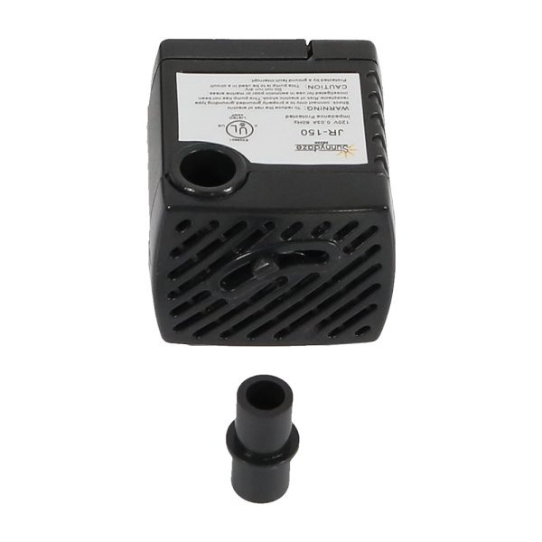 Sunnydaze Small Fountain Submersible Electric Water Pump, 120 Volts, 40 GPH