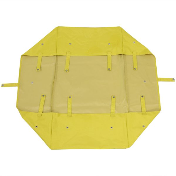 Sunnydaze Utility Cart Liner - Includes Liner ONLY, Yellow